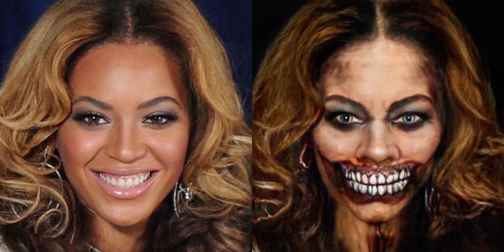 Beyonce as a Zombie